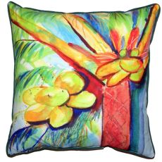Cocoa Nut Tree Large Indoor/Outdoor Pillow 18X18