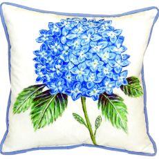 Dick'S Hydrangea Large Indoor/Outdoor Pillow 18X18