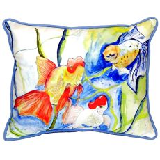 Fantails Large Indoor/Outdoor Pillow 16X20