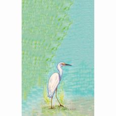Snowy Egret Kitchen Towel