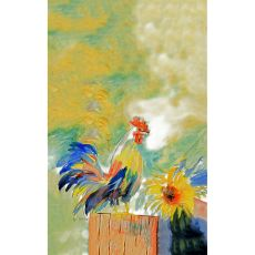 Betsy'S Rooster Kitchen Towel