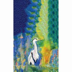 D&B'S Blue Heron Kitchen Towel