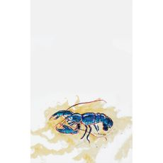 Blue Lobster Kitchen Towel
