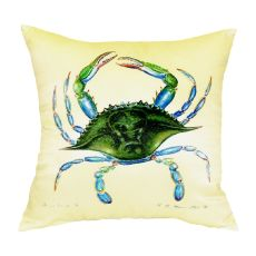 Blue Crab - Female No Cord Pillow 18X18