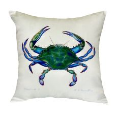 Blue Crab - Male No Cord Pillow 18X18