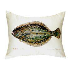Flounder No Cord Pillow 16X20