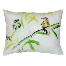 Birds & Bees I No Cord Pillow 16X20