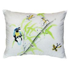 Birds & Bees Ii No Cord Pillow 16X20