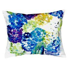 Betsy'S Hydrangea No Cord Pillow 16X20