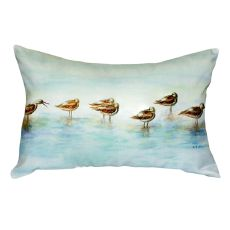 Avocets No Cord Pillow 16x20