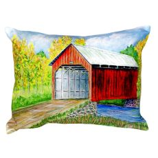 Dick'S Covered Bridge No Cord Pillow 16X20