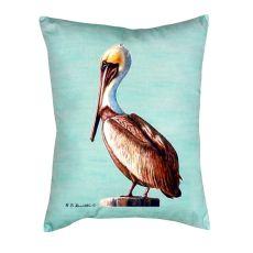 Pelican - Teal No Cord Pillow 16X20