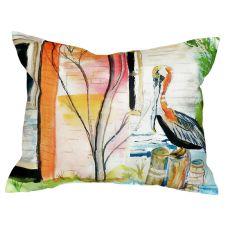 Betsy'S Pelican No Cord Pillow 16X20