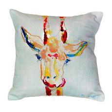 Giraffe No Cord Pillow 18X18