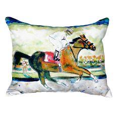 Racing Horse No Cord Pillow 16X20
