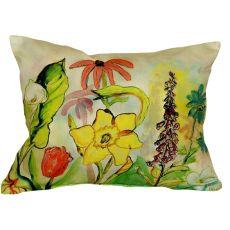 Betsy'S Garden No Cord Pillow 16X20