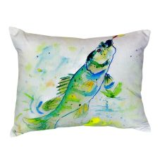 Yellow Perch No Cord Pillow 16X20