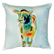 Betsy'S Cow No Cord Pillow 18X18