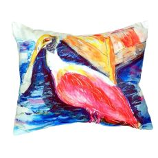 Spoonbill No Cord Pillow 16X20