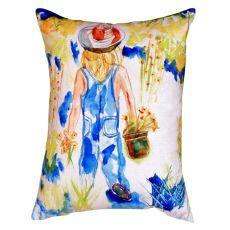 Garden Girl No Cord Pillow 16X20