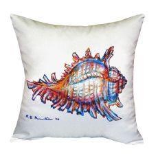 Conch No Cord Pillow 18X18