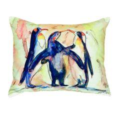Penguins No Cord Pillow 16X20