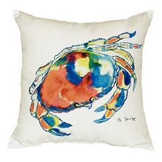 Dungeness Crab No Cord Pillow 18X18