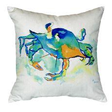 Orange Crab No Cord Pillow 18X18