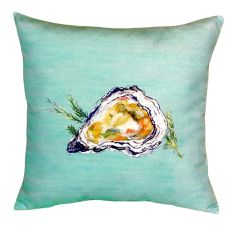 Oyster Shell - Teal No Cord Pillow 18X18