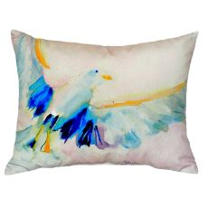 Flying Gull No Cord Pillow 16X20