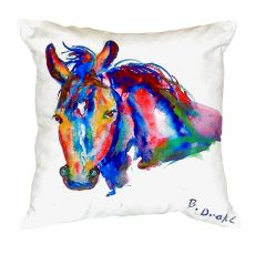 Nellie - Horse No Cord Pillow 16X20