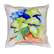 Ginko Leaves No Cord Pillow 18X18
