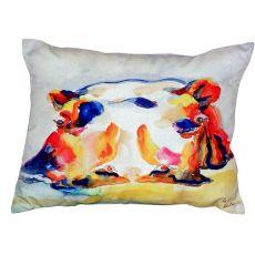 Hippo No Cord Pillow 16X20