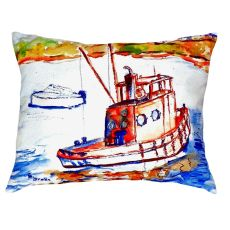 Rusty Boat No Cord Pillow 16X20