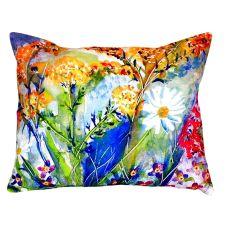 Wild Flower No Cord Pillow 16X20