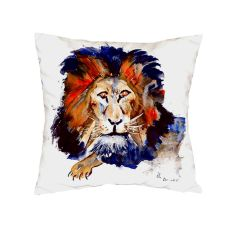 Lion No Cord Pillow 18X18