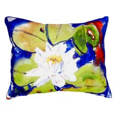 Lily Pad Flower No Cord Pillow 16X20
