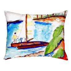 Catamaran No Cord Pillow 16X20