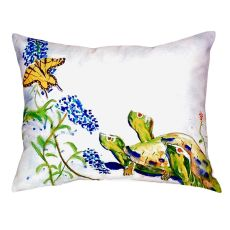 Turtles & Butterfly No Cord Pillow 16X20