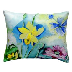 Betsy'S Florals No Cord Pillow 16X20