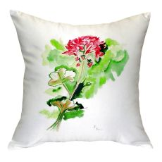 Geranium No Cord Pillow 18X18