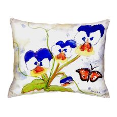 Pansies No Cord Pillow 16X20