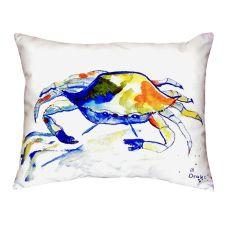 Yellow Crab No Cord Pillow 16X20