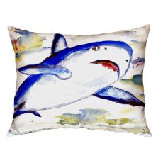 Shark No Cord Pillow 16X20