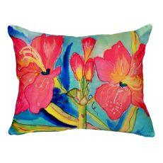 Pink Amaryllis No Cord Pillow 16X20