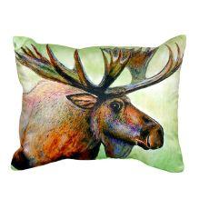 Moose No Cord Pillow 16X20