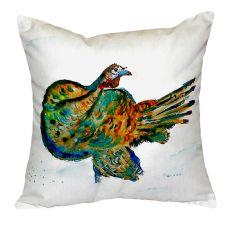 Turkey No Cord Pillow 18X18