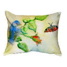 Blue Bird No Cord Pillow 16X20