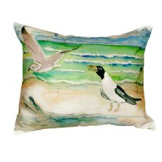 Seagulls No Cord Pillow 16X20