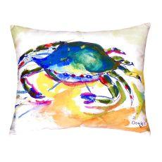 Green Crab No Cord Pillow 16X20